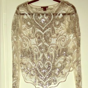 Cute Sequined Shirt